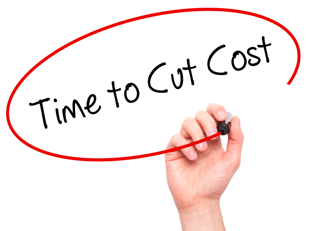 Time to Cut Cost graphic